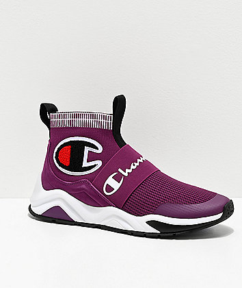 Champion Rally Pro Venetian Purple & Black Shoes