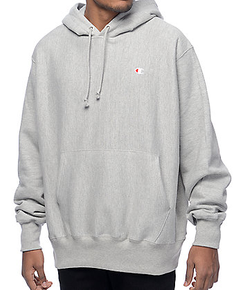 Champion Reverse Weave Heather Grey Hoodie