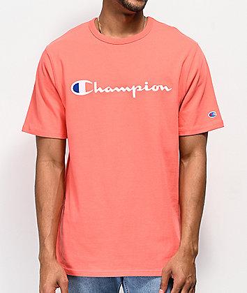 Champion Script Coral T-Shirt