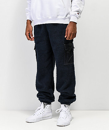 Champion Sherpa Navy Utility Sweatpants