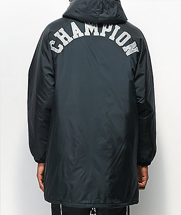Champion Sideline Black Puffer Jacket
