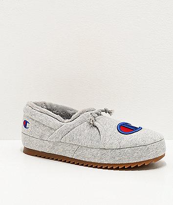 Champion University Grey Slippers