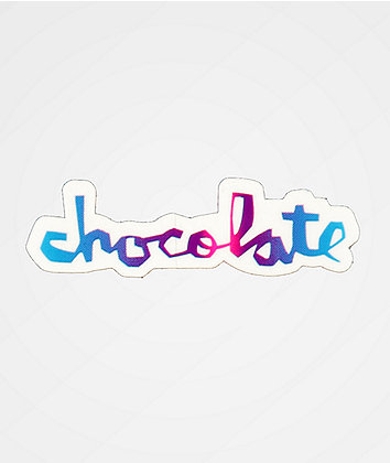 Chocolate OG Logo Sticker