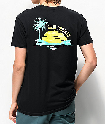 Club Midnite Colada Black T-Shirt