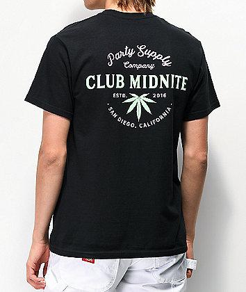 Club Midnite Homegrown Black T-Shirt