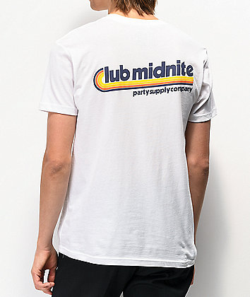 Club Midnite PSC White T-Shirt