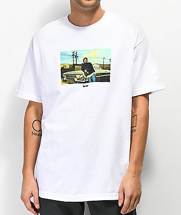 Color Bars x Boyz N The Hood Doughboy White T-shirt