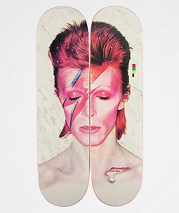 "Color Bars x David Bowie Aladdin Sane 8.25"" Skateboard Decks"