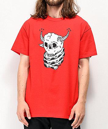 Common Brain Eater Red T-Shirt