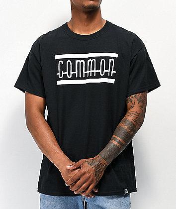 Common Killer Whale Black T-Shirt
