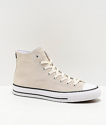 Converse Chuck Taylor All Star Pro Vintage White Skate Shoes