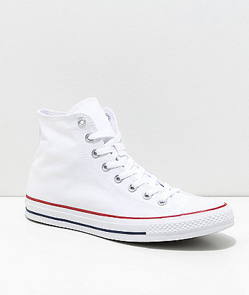 Converse Chuck Taylor All Star White High Top Shoes