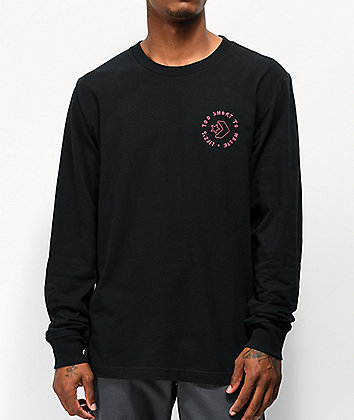 Converse Life's Short Black Long Sleeve T-Shirt