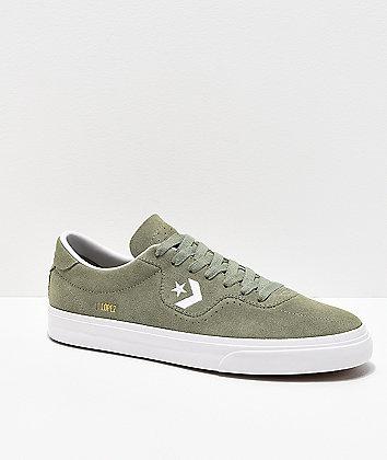 Converse Louie Lopez Pro Jade Stone & White Skate Shoes