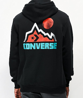 Converse Mountain Moon Black Hoodie