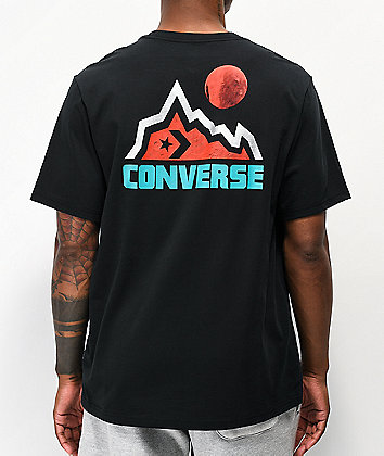 Converse Mountain Moon Black T-Shirt