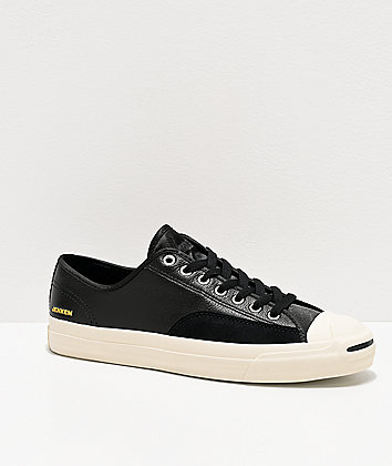 Converse x Jenkem Jack Purcell Black Skate Shoes