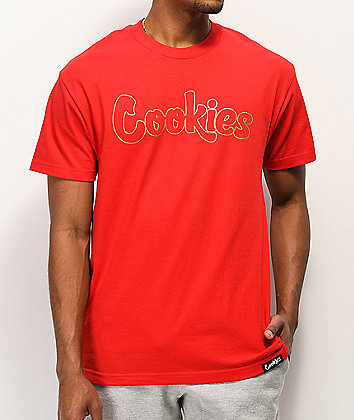 Cookies Bullet Proof Thin Mint Red T-Shirt