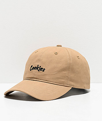 Cookies Thin Mint Khaki & Black Strapback Hat