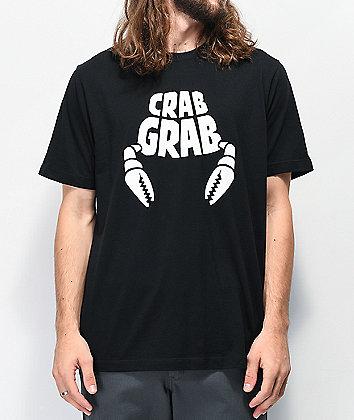 Crab Grab Classic Black T-Shirt