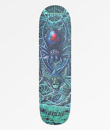 "Creature Haunted Webs Everslick 8.59"" Skateboard Deck"