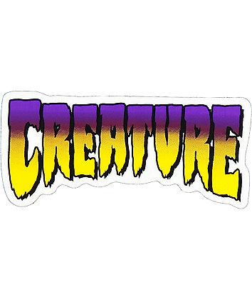 "Creature Purple Logo 5"" Sticker"