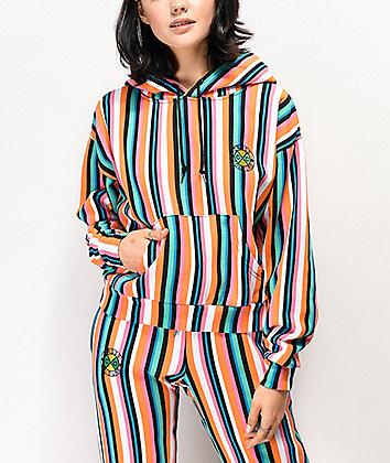 Cross Colours Pop Stripe Hoodie