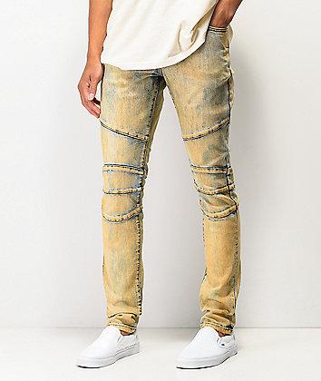 Crysp Montana Dirty Wash Denim Jeans