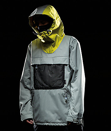 DC ASAP Neutral Grey 10K Anorak Snowboard Jacket