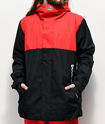 DC Defy Racing Red Snowboard Jacket