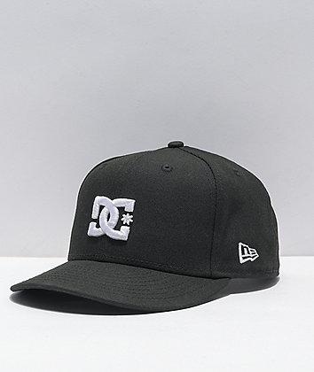 DC Empire Fielder Black Snapback Hat