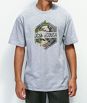 DC First Mission Grey T-Shirt