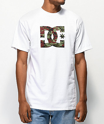 DC Star Snow White & Camo T-Shirt