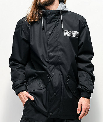 DC Union Black 10K Snowboard Jacket