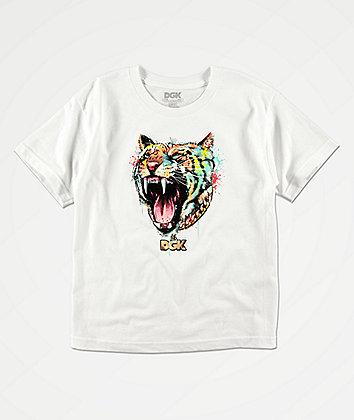 DGK Boys Hunger White T-Shirt