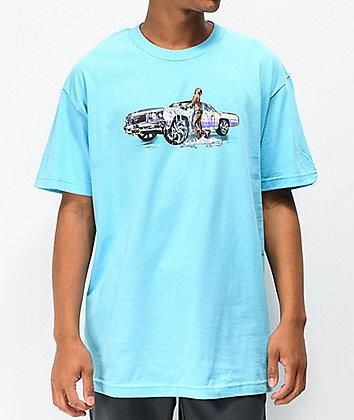 DGK Fresh & Clean Light Blue T-Shirt