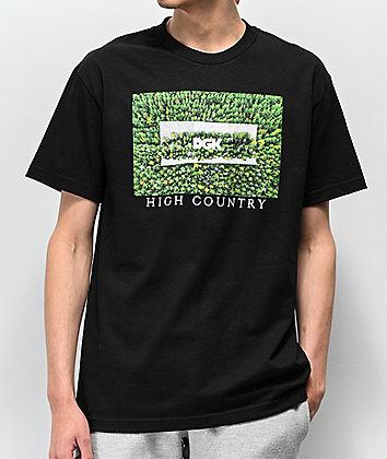 DGK High Country Black T-Shirt