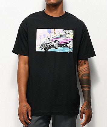 DGK Leanin' Black T-Shirt