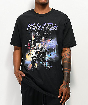 DGK Make It Rain Black T-Shirt