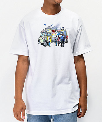 DGK Munchies White T-Shirt