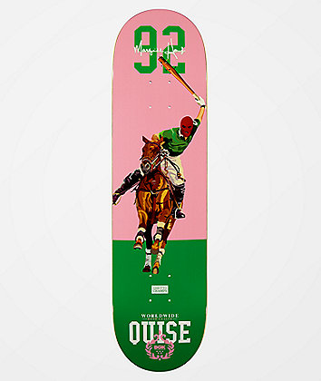 "DGK Quise Hood League 8.25"" Skateboard Deck"