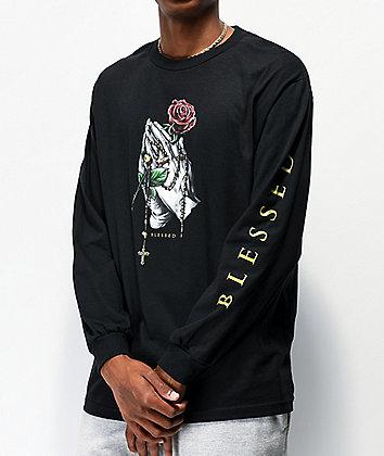 DGK Rosary Black Long Sleeve T-Shirt