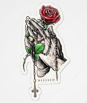 DGK Rosary Sticker