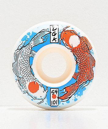 DGK Street Formula Yin Yang 54mm 101a Skateboard Wheels