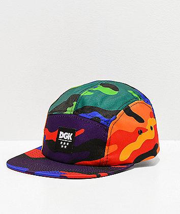 DGK Ultra Camo Camper Strapback Hat