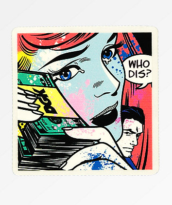 DGK Who Dis Sticker