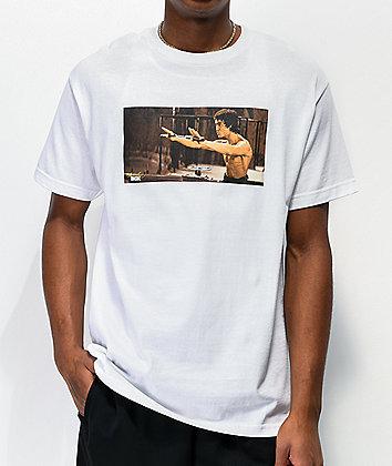DGK x Bruce Lee Nunchucks White T-Shirt