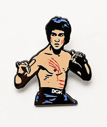 DGK x Bruce Lee Scratch Enamel Pin
