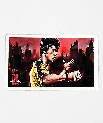 DGK x Bruce Lee Warrior Sticker