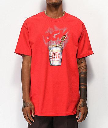 DGK x Cup Noodles Heat Red T-Shirt